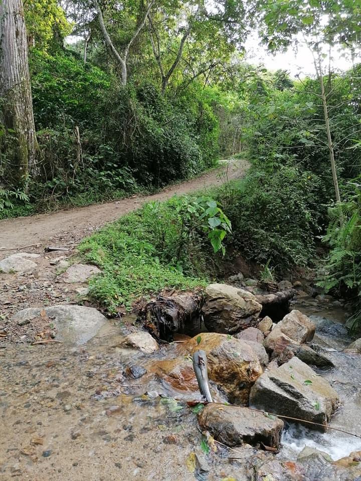 Paisaje Santa María Relatos del río Baché 1