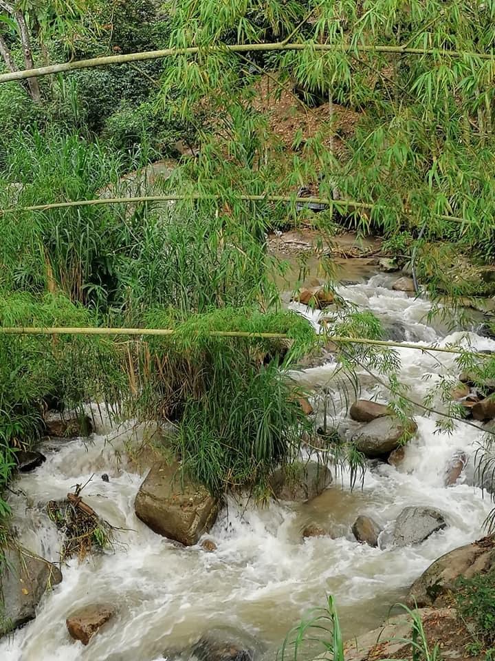 Paisaje Santa María Relatos del río Baché 3